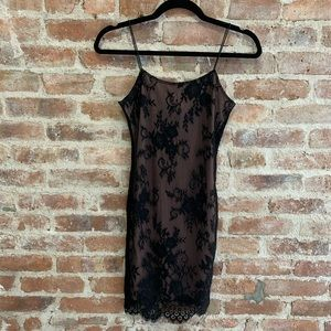 H&M Women's Lace Spaghetti Strap Bodycon Dress